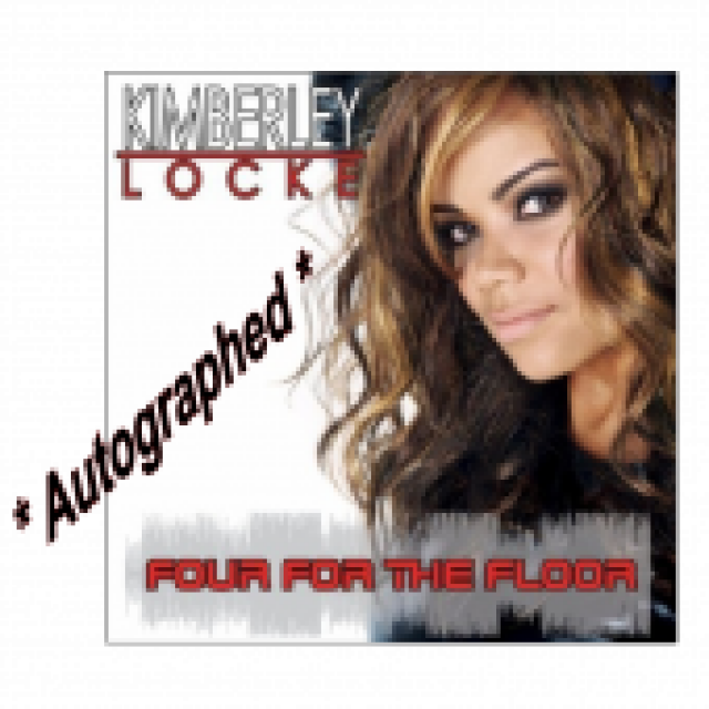 Kimberley Locke - Autographed - EP- Four For The Floor