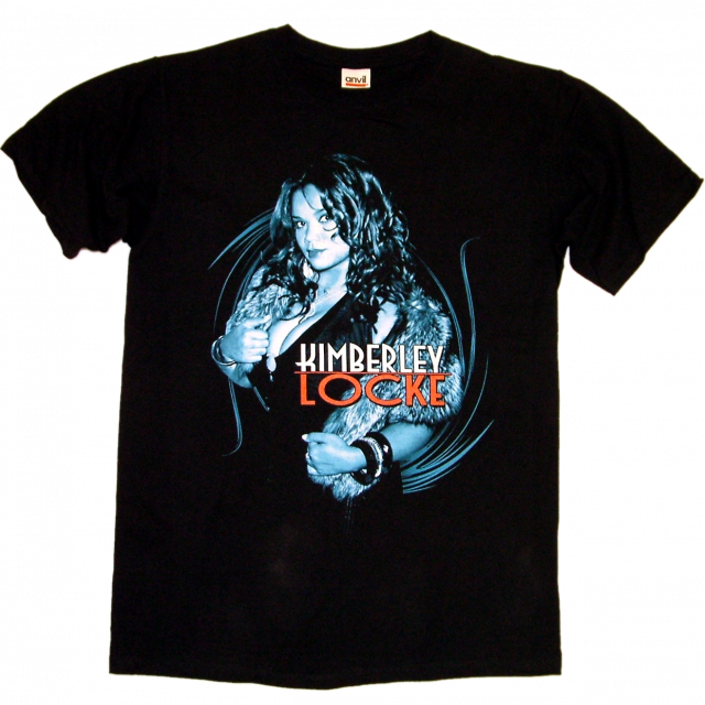 Kimberley Locke Black Tour Tee