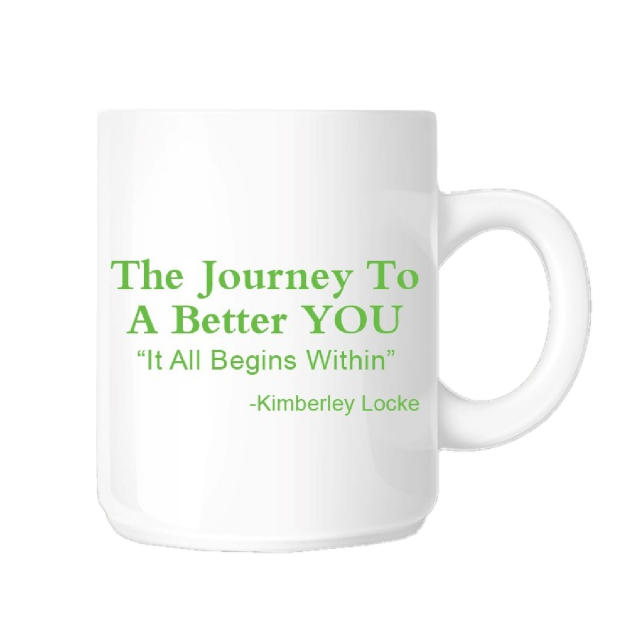 Kimberley Locke Coffee Mug- The Journey To A Better You